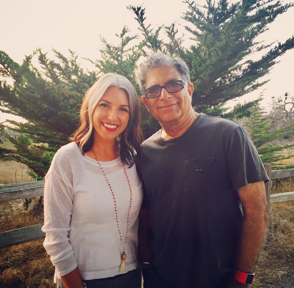 Amanda Ree & Deepak Chopra, MD