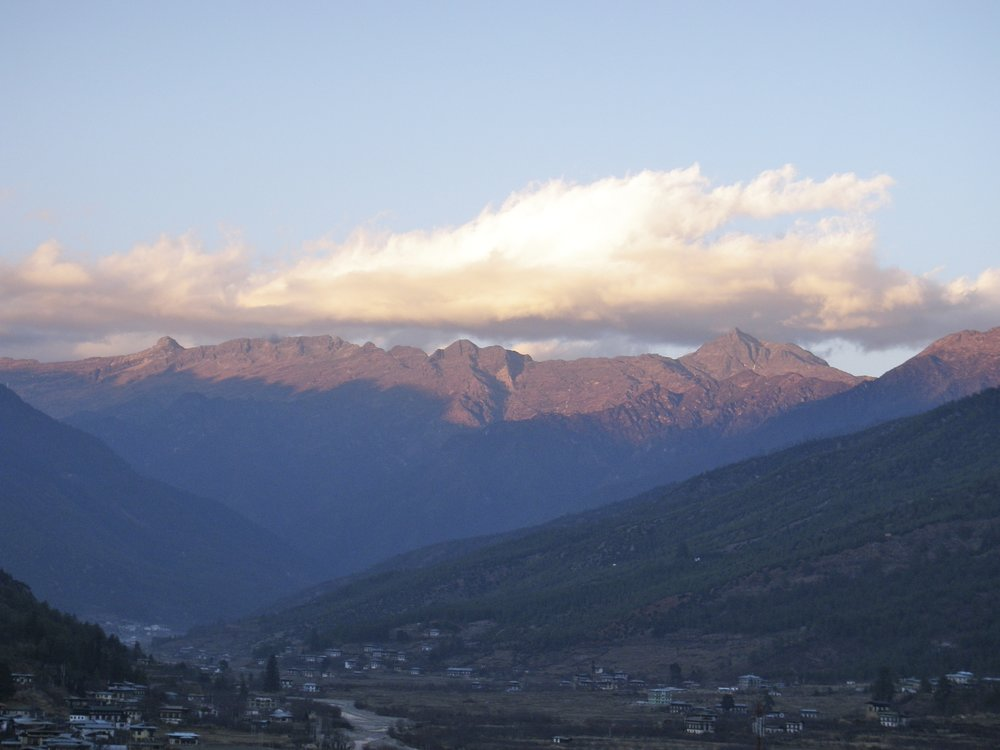 A Beautiful View of Bhutan