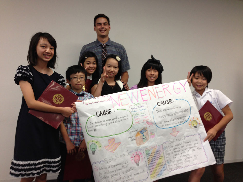 Charlie's Artistically Talented Group was Interested in Clean Energy