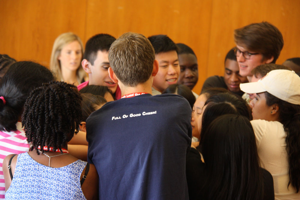 A YLC Classic - the Human Knot
