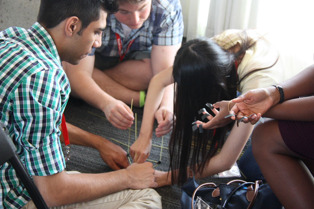 A YLC Classic - the Marshmallow Challenge