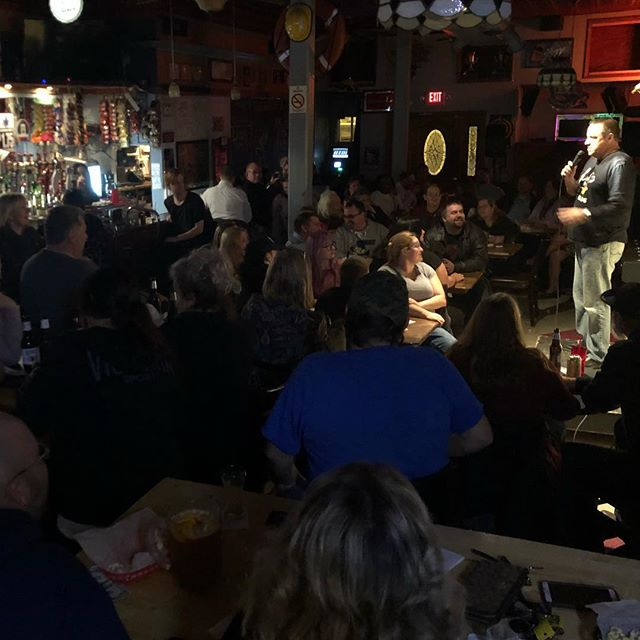 Zeoli killing at a full house in Bay City!! Live Comedy here at the Spinning Wheel every Thursday!!! #standupcomedy #baycity #puremichigan