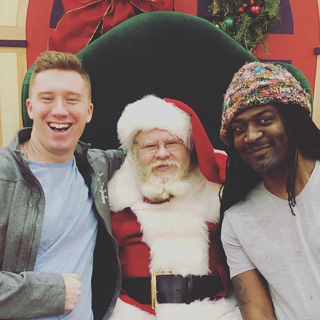 All @therealkrisshaw and I want for Christmas is for you to come to our show Saturday at Rocco's in Essexville!! #santa #standupcomedy #puremichigan #christmas