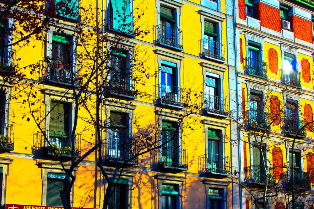Madrid Streetscape