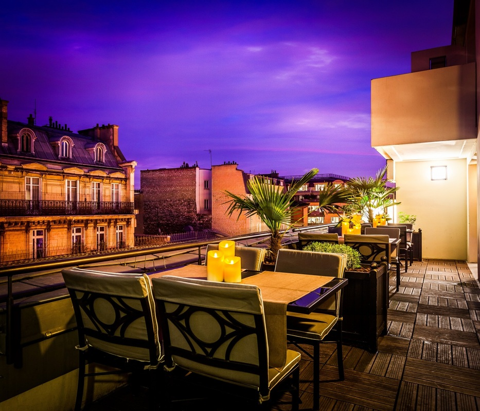 The Executive Lounge Terrace