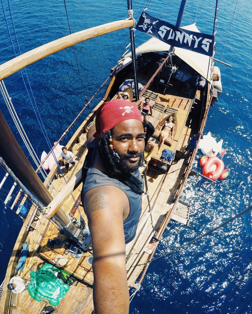 Pirates of Bali or the Bahamas? Both!