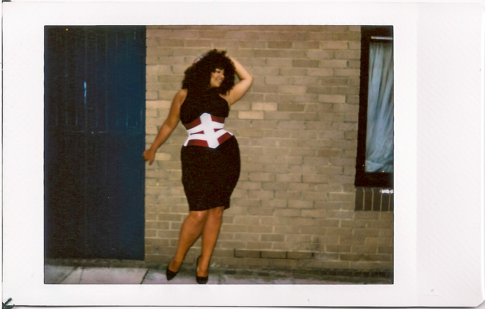 "Corset: Pop Antique "" Vixen "" | Model: Olivia Campbell | Photo © Marianne Faulkner"