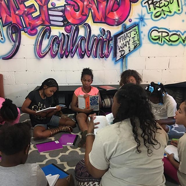 This summer we collaborated with @global_glow @litworld to teach our girls character strengths through literature. We created PSAs about the issues we read about. Stay tuned for our PSAs!