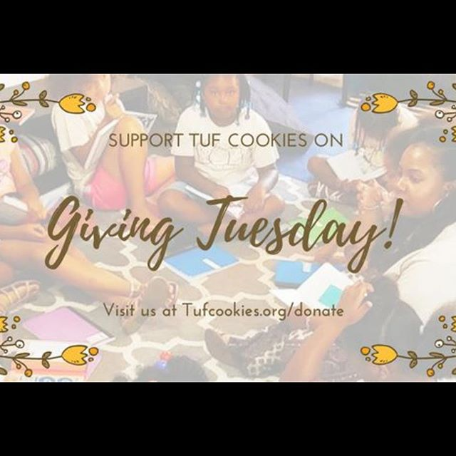 Support us on giving Tuesday!! Help to give our girls more opportunities to explore detroit!! #makethatmoneydoublefortufcookies