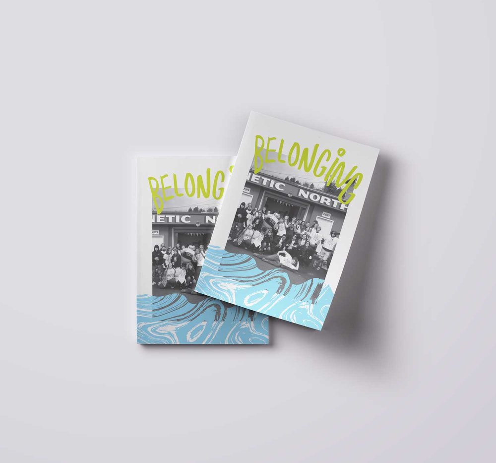 Belonging  - Publication Design