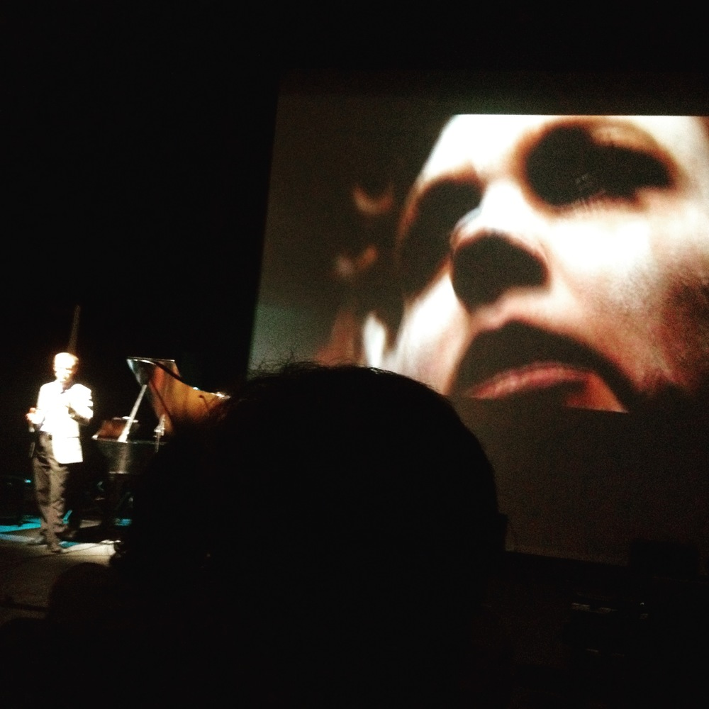 Keith Kirchoff performing Medusa in Fragments at ICMC 2015, UNT