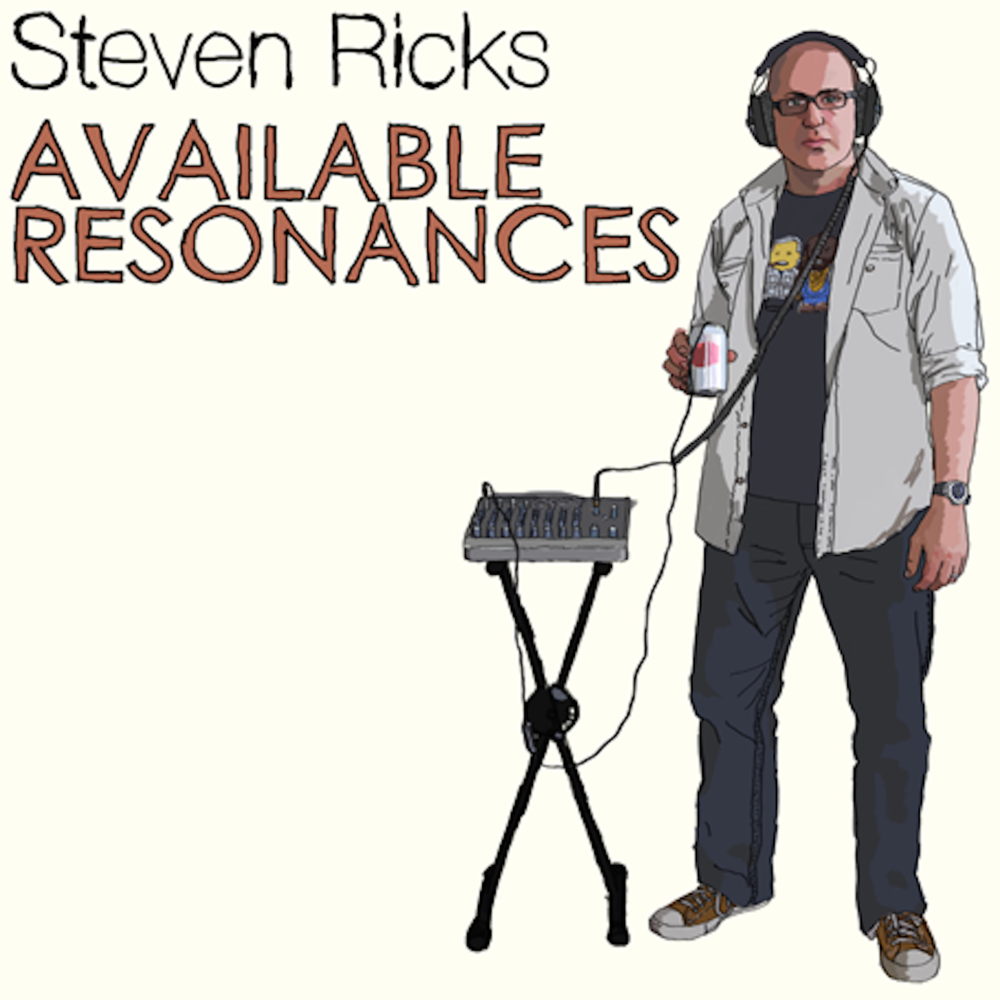 Available Resonances - Cover art by Michael Barker, Available Resonances includes several electronic improvisations and modified field recordings that use Radio Shack electret mics and Max/MSP, among other things. Released on my friend/colleague Christian Asplund's Comprovise Records label.
