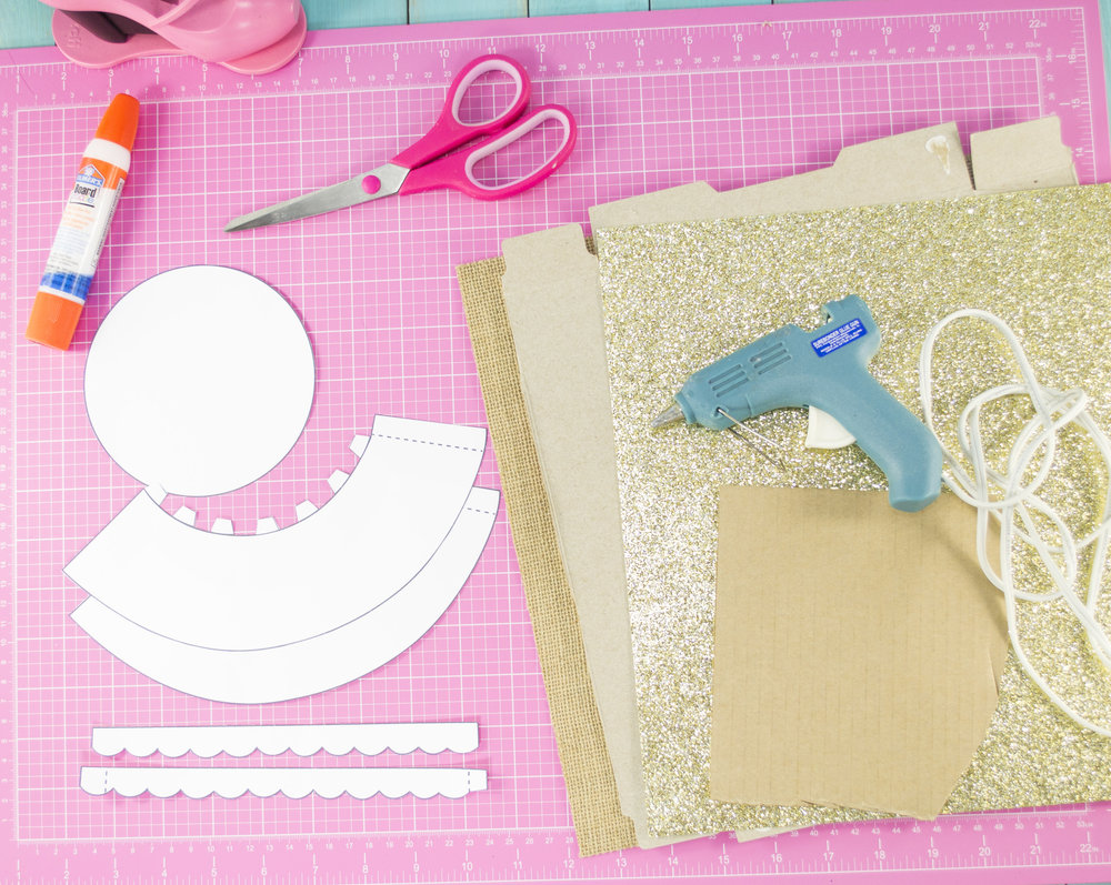 Diy cupcake stand tutorial little luxuries loft for Diy will template