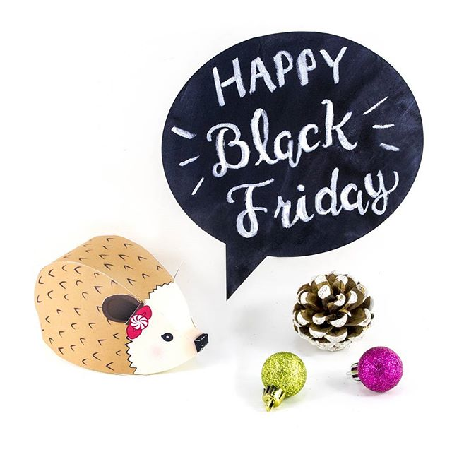 Happy Black Friday guys!! Hope everyone's getting some retail therapy this weekend 😆  @silhouette.inc is having their half off all designs sale. And of course little luxuries loft on Etsy is having our BF sale too! if you're on the hunt for some crafty goodness 😄  #silhouetteamerica #silhouettecameo #littleluxuriesloft #blackfriday #crafttime #cybermonday #papercrafts #graphicdesign ##etsyfinds #printables #svgcuts #hedgehog #papercrafting #christmascrafts #happyfriyay #makersgonnamake