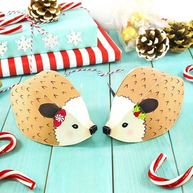 Happy Fri-yay 😊Tis chilly out, time to cozy up! And turn into a hedgehog ball if necessary! 🎄🎁 ..........................................................#littleluxuriesloft #silhouetteamerica #silhouettecameo #hedgehog #papercraft #creativetime #papermade #printables #svgcuts #happyfriyay #happyfriday #christmascrafts #christmashedgehog #makersgonnamake #holidayfun #diychristmas #picoftheday