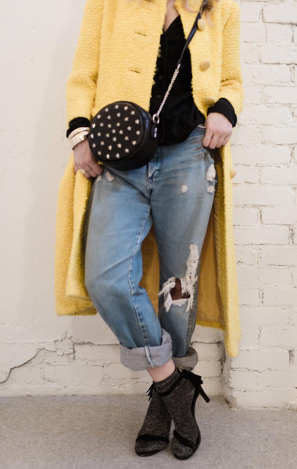 Eldridge Edit_Anna_E_Cottrell_Fashion_Blogger_Yellow_Vintage_Coat_Wrangler_Boyfriend_Jeans_Spring_Trend_2017_Star_Crossbody_Bag_Socks_with_Heels_Trend_MGB_Photo_7.jpg