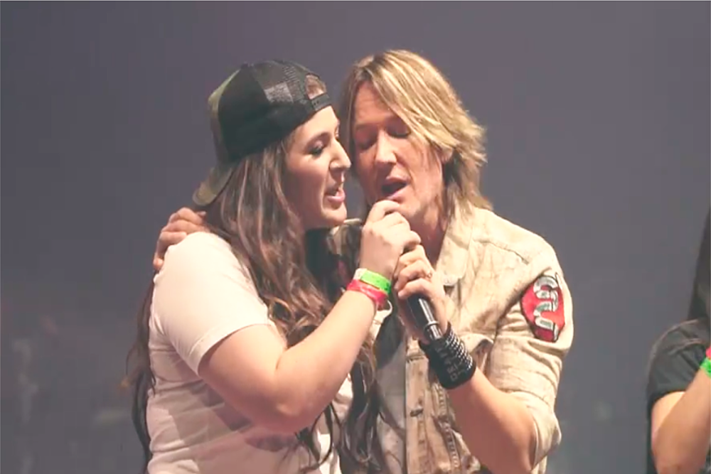 KEITH URBAN FAN UNEXPECTEDLY TAKES MIRANDA LAMBERT'S PLACE DURING 'WE WERE US'