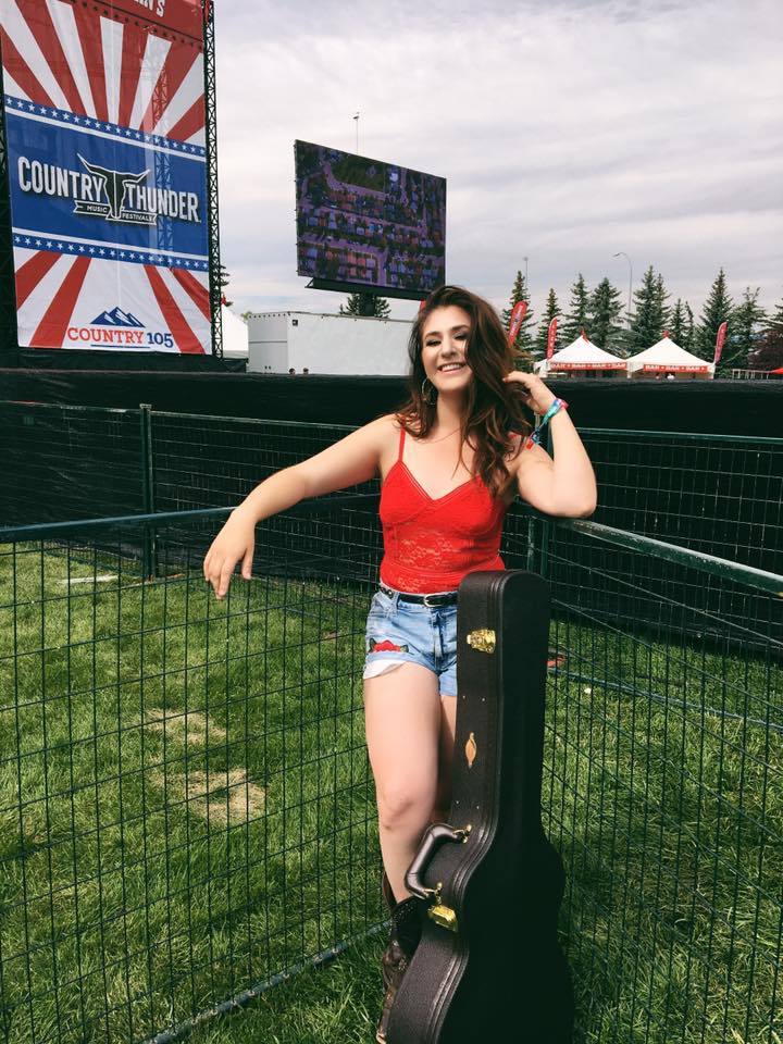 Okotoks artist ready to take the stage at Country Thunder