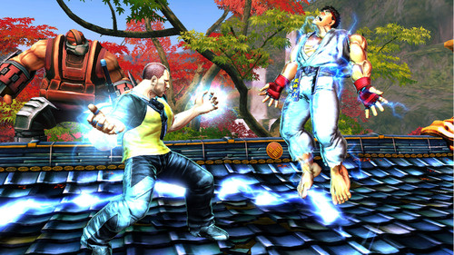 Cole Macrgrath in Street Fighter X Tekken PS Vita