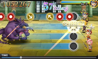 Theatrhythm Final Fantasy gameplay