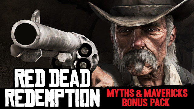 Red Dead Redemption DLC Myths and Mavericks Bonus Pack