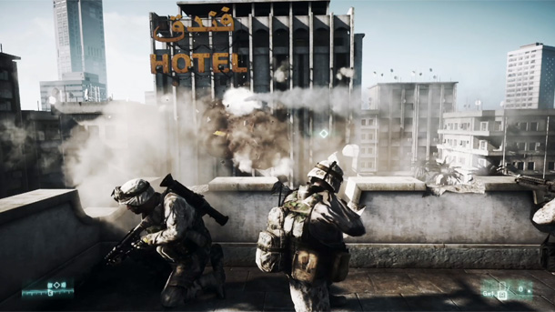 Battlefield 3 destruction