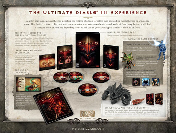 Diablo 3 Collector's Edition revealed