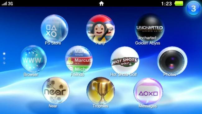 PS Vita applications
