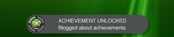 Blogged about achievements