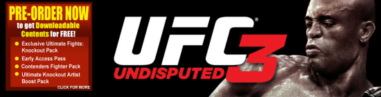 UFC Undisputed Datablitz preorder
