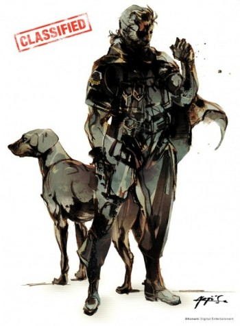 Metal Gear Solid New art