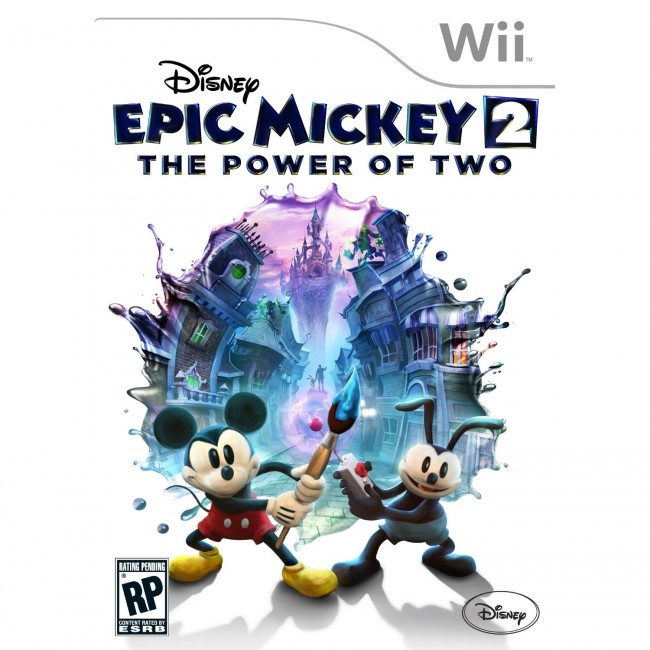 Epic Mickey Wii Boxart