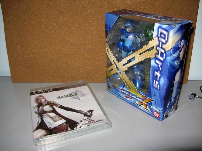 FF13 D-Arts Rockman X 01
