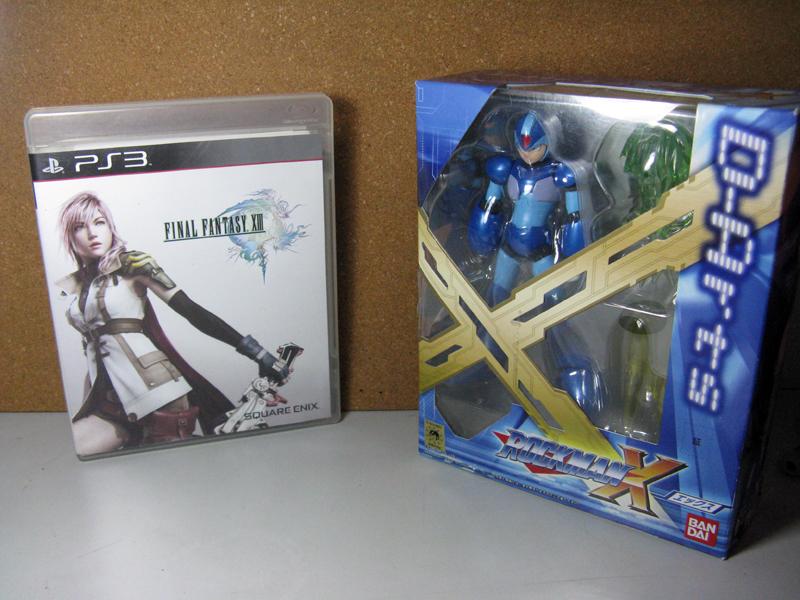 FF13 D-Arts Rockman X 02