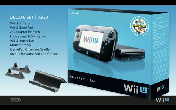 Wii U Deluxe Set