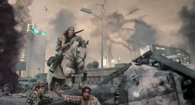 Black Ops 2 live trailer