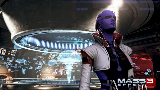 Mass Effect 3 Omega DLC screenshot