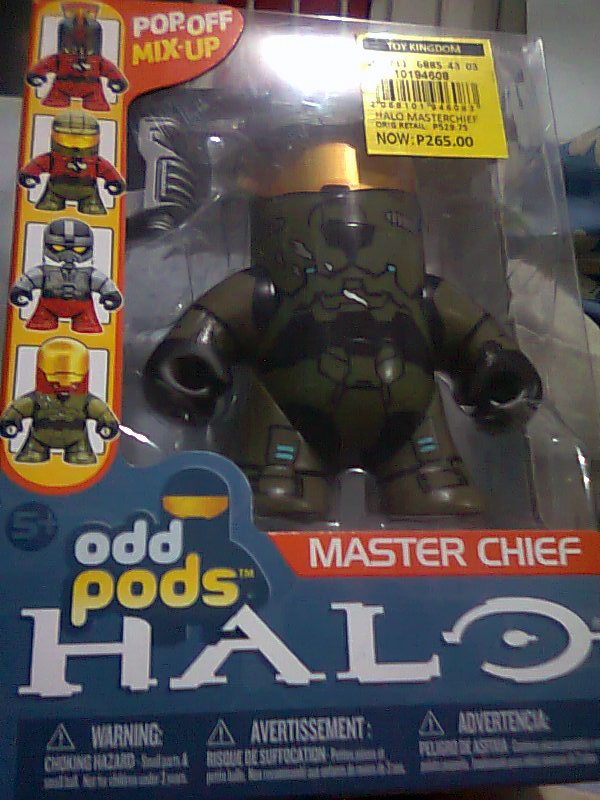 Master Chief Odd Pods