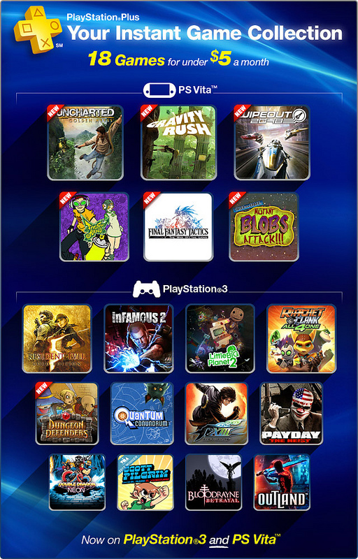 PlayStation Plus November 2012