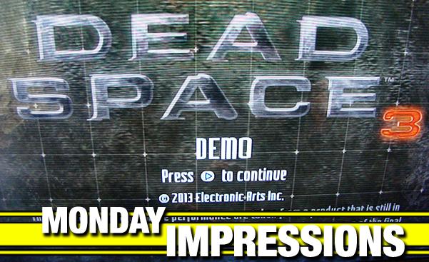 Dead Space 3 demo