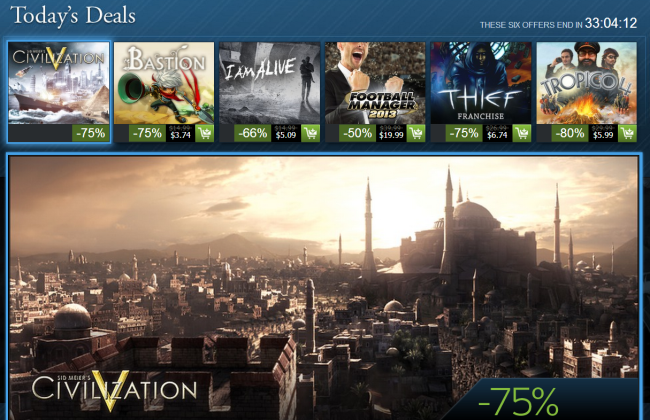 Steam Holiday sale0104