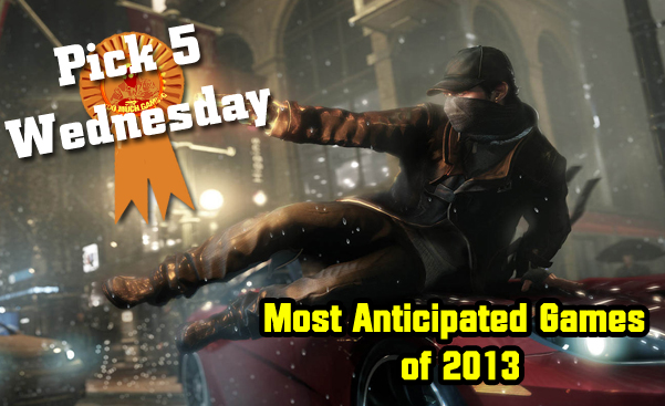 most anticipated games of 2013v2