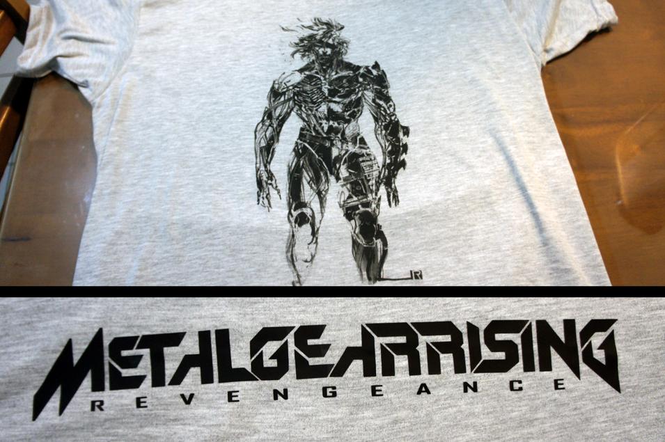 Metal Gear Rising Revengeance Shirt