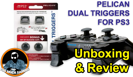 Plelican Dual Triggers for PS3