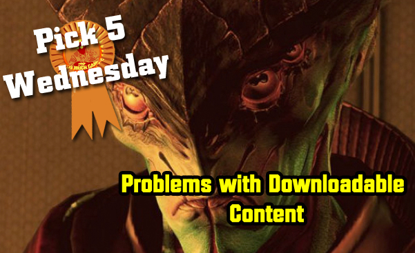 Problems with Downloadable Content