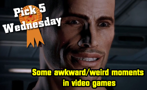 Video Games and their awkward moments