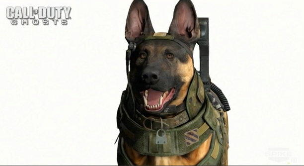 Horray for highly detailed dogs for next-gen Call of Duty!