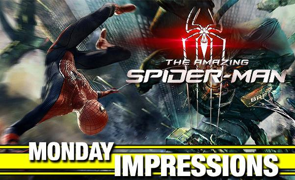 monday impressions amazing spider-man