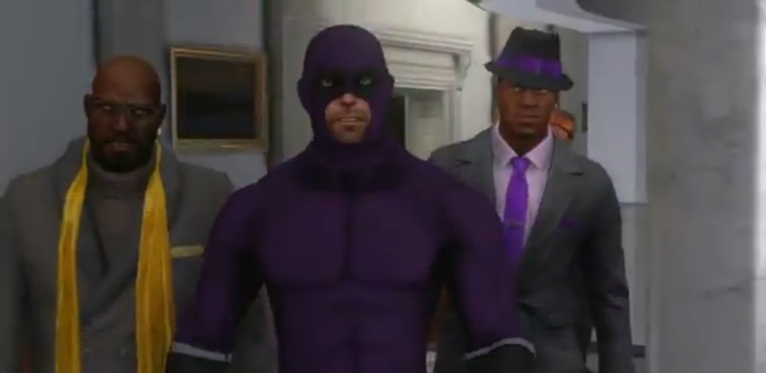 saints row 4 meet the president