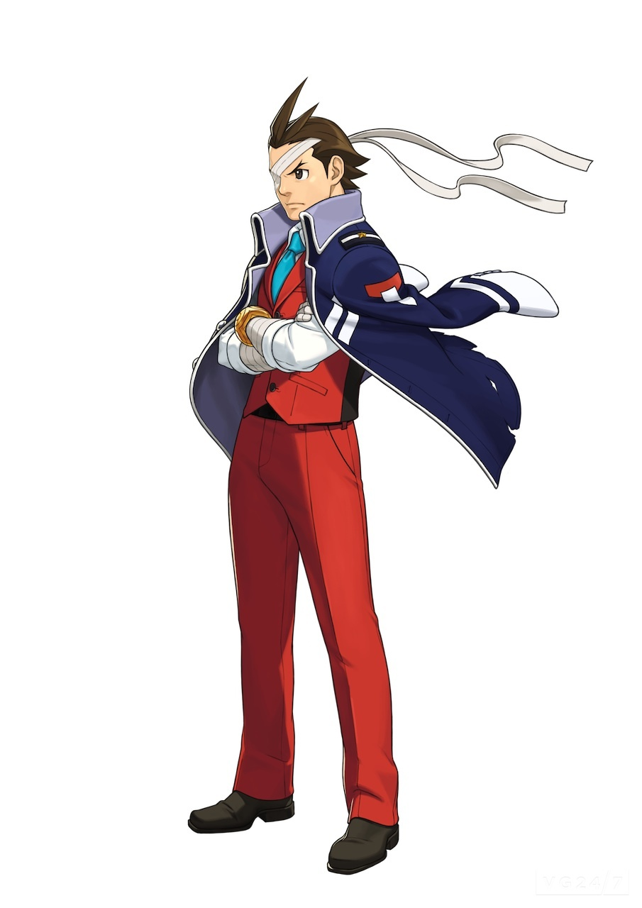 Is Apollo Justice like some kind of badass samurai now?